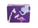 Lunchbox metalowy ZOO Sebra