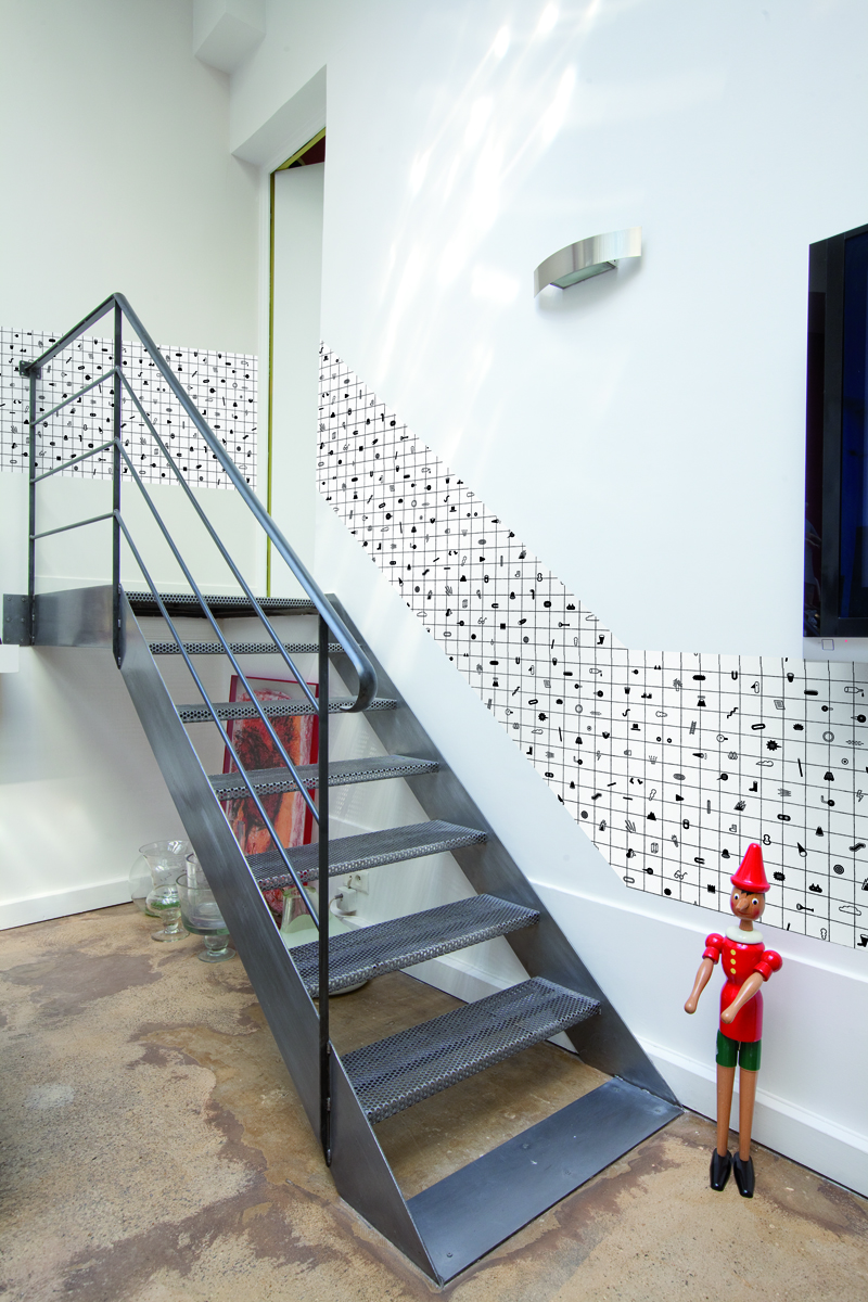tapeta do malowania kolorowania jochen mark on the wall design dla dzieci. Black Bedroom Furniture Sets. Home Design Ideas