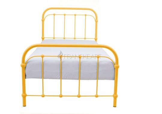 Metalowe łóżko Retro